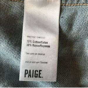 PAIGE Jackets & Coats - Paige Denim Jean Jacket